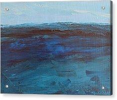 Pacific Blue Acrylic Print