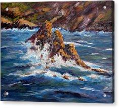 Pacific Coast Acrylic Print by Thomas Restifo