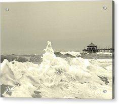 Pacific Love Acrylic Print by Suzette Kallen