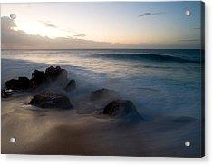 Pacific Ocean Power - Hawaii Acrylic Print by Brad Rickerby