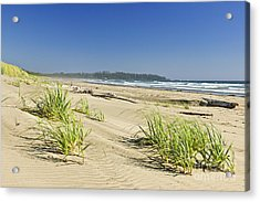 Pacific Ocean Shore On Vancouver Island Acrylic Print
