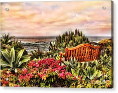 Pacific Ocean View Acrylic Print by Clare VanderVeen