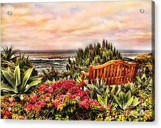 Pacific Ocean View Acrylic Print