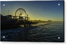 Pacific Park Ferris Wheel Acrylic Print