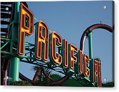 Pacific Park Acrylic Print