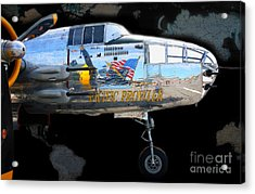 Pacific Prowler Acrylic Print by Barbara Teller