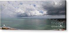 Pacific Storm Panorama Acrylic Print
