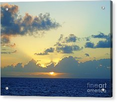 Pacific Sunrise, Japan Acrylic Print