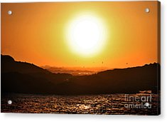 Pacific Sunset Acrylic Print