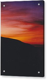 Pacific Sunset I Acrylic Print