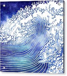 Pacific Waves II Acrylic Print
