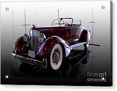 Packard Convertable Acrylic Print by Curt Johnson