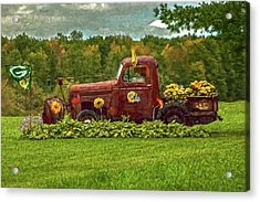 Packers Plow Acrylic Print