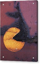 Pacman Pellets  Acrylic Print by Jerry Cordeiro