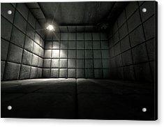 Padded Cell Dirty Spotlight Acrylic Print by Allan Swart