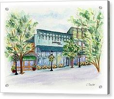 Paddington On Main Acrylic Print