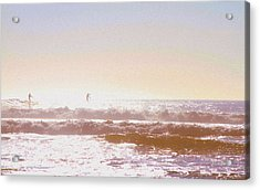 Paddleboarders Acrylic Print