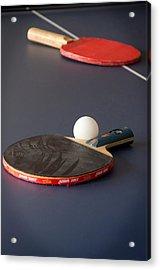 Paddles And Ball Acrylic Print