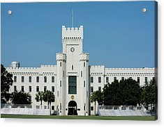 Padgett-thomas Barracks Acrylic Print by Ed Waldrop