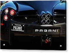 Pagani Texas Acrylic Print