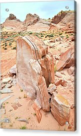 Acrylic Print featuring the photograph Pages Of Stone In Valley Of Fire by Ray Mathis