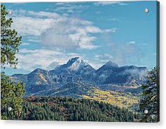 Pagosa Peak Autumn 2014 Acrylic Print