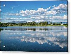 Pagosa Summer Reflections Acrylic Print