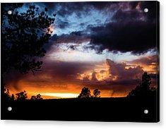 Pagosa Sunset 11-20-2014 Acrylic Print
