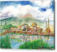 Paia Mill 1 Acrylic Print