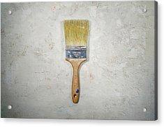 Paint Brush Acrylic Print by Scott Norris