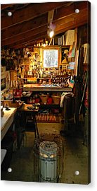 Paint Shed Acrylic Print