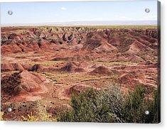 Painted Desert 0249 Acrylic Print by Sharon Broucek