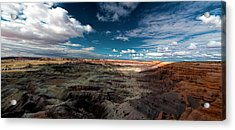 Painted Desert Acrylic Print by Charles Ables