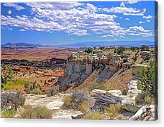 Painted Desert Of Utah Acrylic Print