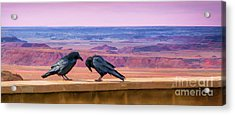 Painted Desert Pals Acrylic Print