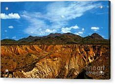 Painted Desert Acrylic Print by Ruth  Housley