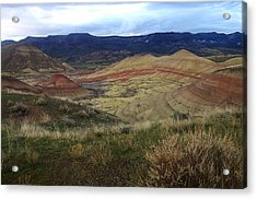 Painted Hills 1 Acrylic Print