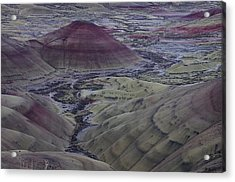 Painted Hills 2 Acrylic Print