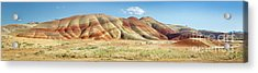 Painted Hills Pano 1 Acrylic Print by Jerry Fornarotto