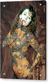 Painted Lady Acrylic Print by Richard Henne