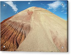 Painted Mound Acrylic Print by Greg Nyquist
