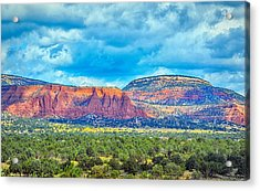 Acrylic Print featuring the photograph Painted New Mexico by AJ Schibig