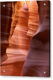 Painted Sand Acrylic Print by Jason Heiman