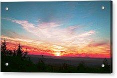Painted Sky II Acrylic Print