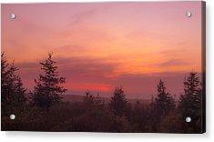Painted Sky IIi Acrylic Print