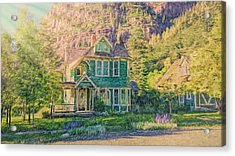 Painted Victorian Acrylic Print