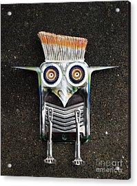 Painter Bird  Acrylic Print
