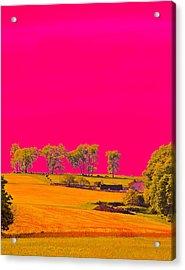 Painter Ridge Acrylic Print by Gillis Cone