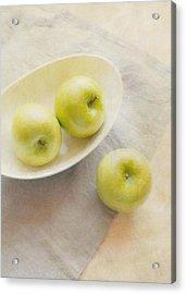Painterly Apples Acrylic Print