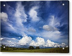Painterly Sky Over Oklahoma Acrylic Print